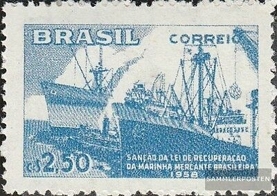 Brazil 942 unmounted mint / never hinged 1958 Reconstruction the Merchant