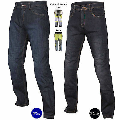 Men's Motorcycle Protective Trousers Made With DuPont Kevlar Pants Jeans