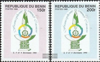 Benin 716-717 (complete.issue.) unmounted mint / never hinged 1995 Conference