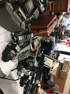 LOT OF 13 Vintage Cameras , Accessories And More