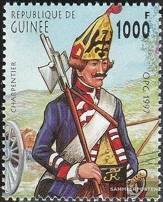 Guinea 1658 unmounted mint / never hinged 1997 Prussian Uniforms