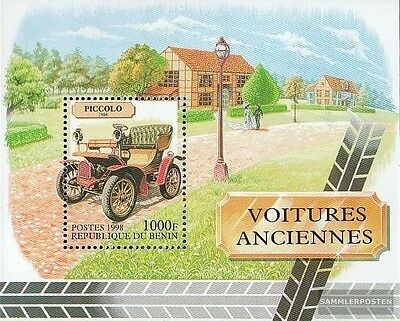 Benin Block43 unmounted mint / never hinged 1998 Old Cars