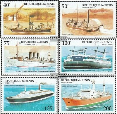 Benin 631-636 (complete.issue.) unmounted mint / never hinged 1995 Vessels