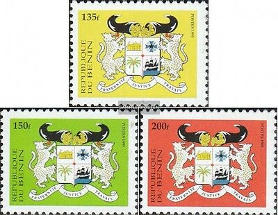 Benin 682II-684II (complete.issue.) unmounted mint / never hinged 1995 State Emb