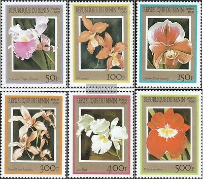 Benin 1152-1157 (complete.issue.) unmounted mint / never hinged 1999 Orchids