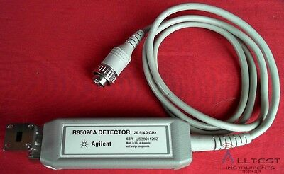 HP / Agilent R85026A WR-28 Waveguide Detector, 26.5 GHz to 40 GHz