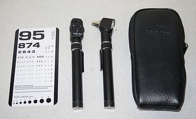 Welch Allyn 211/13010/728 PocketScope Otoscope Ophthalmoscope Diagnostic Set