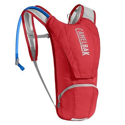 2017 Camelbak 2.5 L Classic Hydration Pack in Racing Red RRP £49.99