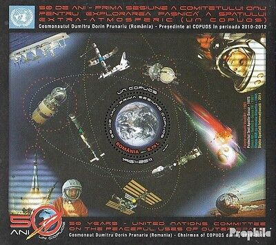 Romania block503 (complete.issue.) unmounted mint / never hinged 2011 Space