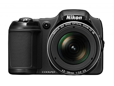 Nikon COOLPIX L820 16 MP CMOS Digital Camera with 30x Zoom Lens and Full HD 1080