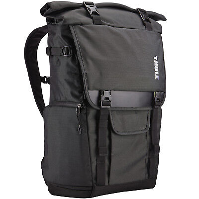 Thule TCDK-101 Covert DSLR Camera Laptop Tablet Rolltop Backpack Case Bag