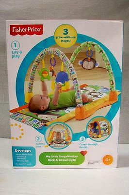NEW Fisher Price My Little SnugaMonkey Kick 'n Crawl Gym