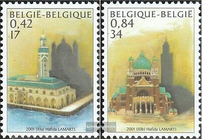 Belgium 3052-3053 (complete.issue.) unmounted mint / never hinged 2001 Morocco