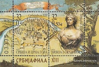 Yugoslavia block56 (complete.issue.) unmounted mint / never hinged 2003 Stamp Ex