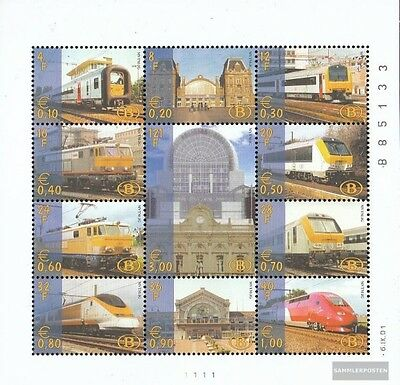 Belgium e Kleinbogen1/2001 (complete.issue.) unmounted mint / never hinged 2001