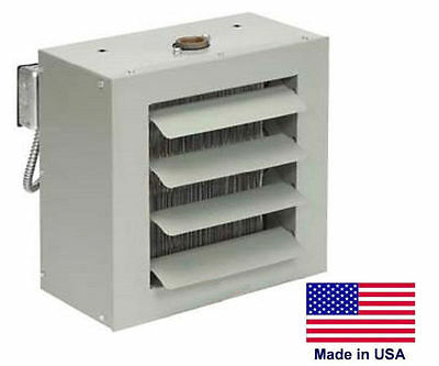 UNIT HEATER - STEAM & HOT WATER Commercial - Fan Forced - 47,000 BTU - 115 Volt