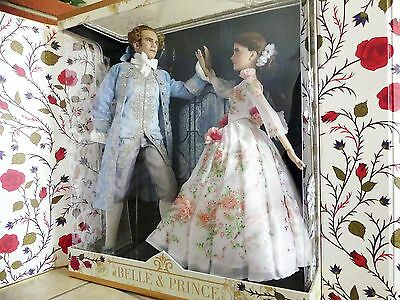 Disney Store Beauty & the Beast Live Action Platinum Doll Set LE 500 Limited