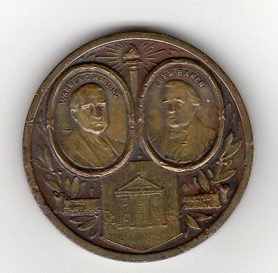Marion, OH  Centennial Medal by The Marion Steamshovel Co.  1922