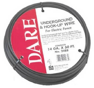 Dare Products Electric Fence 50' Underground & Hook Up Wire 2488