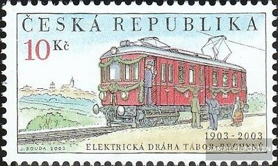 czech republic 358 (complete.issue.) unmounted mint / never hinged 2003 Railway