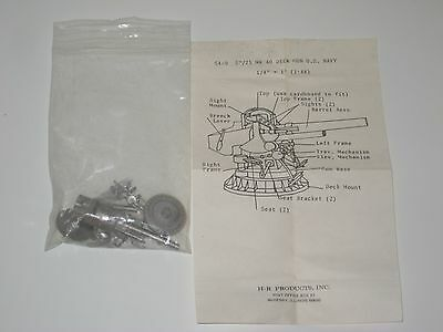 "H-R Products, Inc. S4-9 5""/25 MK 40 Deck Gun U.S. Navy (1:48)"