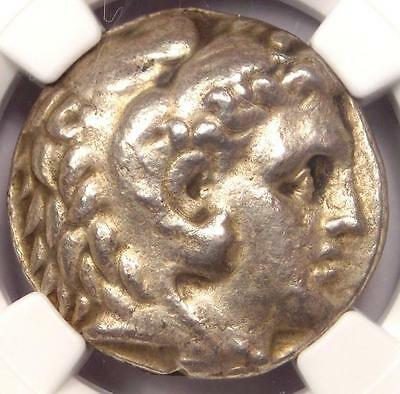 Alexander the Great III AR Tetradrachm 336-323 BC - Certified NGC Choice XF (EF)