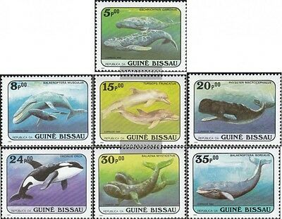 Guinea-Bissau 804-810 (complete.issue.) unmounted mint / never hinged 1984 Whale