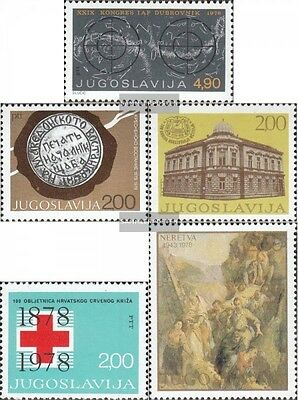 Yugoslavia 1743,1746,1747,1748,1754 (complete.issue.) unmounted mint / never hin