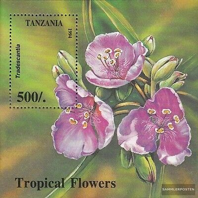 Tanzania block263 (complete.issue.) unmounted mint / never hinged 1994 Tropical