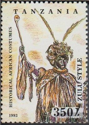 Tanzania 1692 (complete.issue.) unmounted mint / never hinged 1993 Costumes