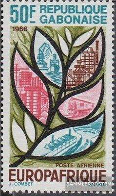 Gabon 250 (complete.issue.) unmounted mint / never hinged 1966 Europafrique