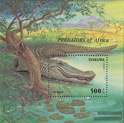 Tanzania Block302 (complete.issue.) unmounted mint / never hinged 1995 African P