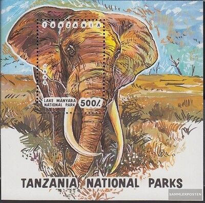 Tanzania block228 (complete.issue.) unmounted mint / never hinged 1993 National