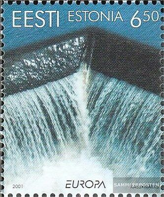 Estonia 399 (complete.issue.) unmounted mint / never hinged 2001 Water