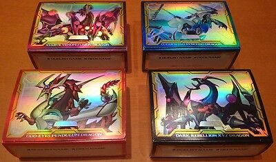 Yugioh Dimension Box Limited Duelist Deck Case 4 Set / Storage DBLE Japanese F/S
