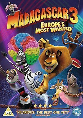 Madagascar 3: Europes Most Wanted  with Ben Stiller New (DVD  2013)