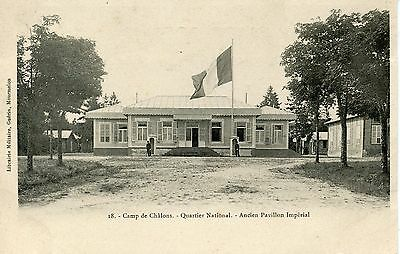 Carte Postale / Camp De Chalons Quartier National Ancien Pavillon Imperial