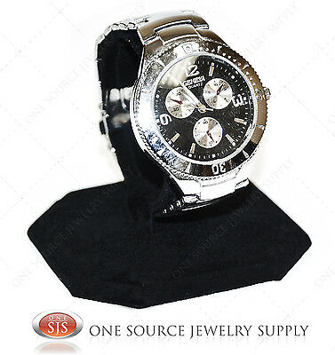 Watch Display Stand Showcase Display Counter Top Stand Metal Base Watch Holder