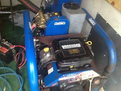 Hydramaster Spitfire 3.2 Truckmount carpet cleaning machine totally reconitioned