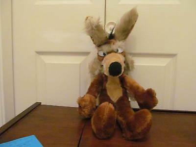 Wile Coyote Stuffed Animal 1971 Mighty Star Warner Bros.