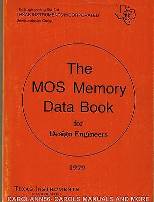 TEXAS INSTRUMENTS Data Book 1979 MOS Memory