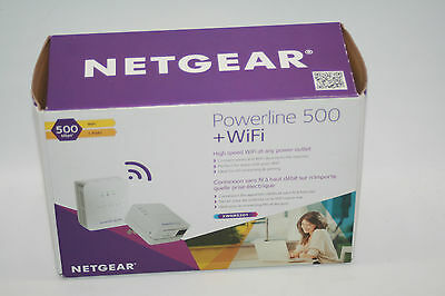 NETGEAR Powerline 500 + WIFI Extender XWNB5201