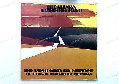 The Allman Brothers Band - The Road Goes On Forever UK 2LP 1975 FOC //1