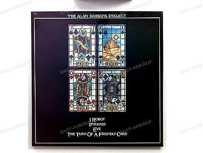 The Alan Parsons Project - I Robot / Pyramid / Eve.. GER 4LP Box 1981 //4