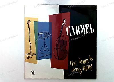 Carmel - The Drum Is Everything GER LP 1984 //1