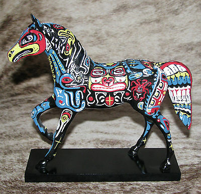 TRAIL OF PAINTED PONIES Spirits of the Northwest 1E/2945 ~Alaskan Animal Totems~