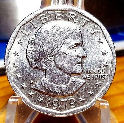 1979-P Susan B Anthony Dollar * Wide Rim * Near Date * Mint Luster * Awesome *
