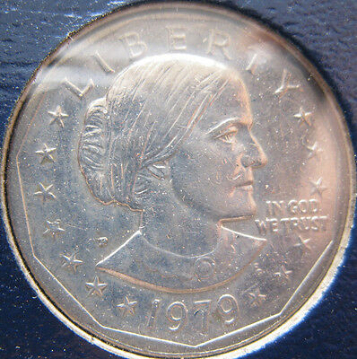 1979 PDS Susan B Anthony Dollar set BU and proof 4 coins