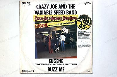 Crazy Joe & The Variable Speed Band - Eugene GER 7in 1980 //1