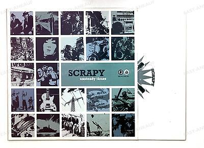 Scrapy - Unsteady Times GER LP 2004 + Innerbag //1